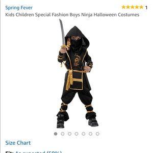 Brand new Boys Halloween Ninja Costume